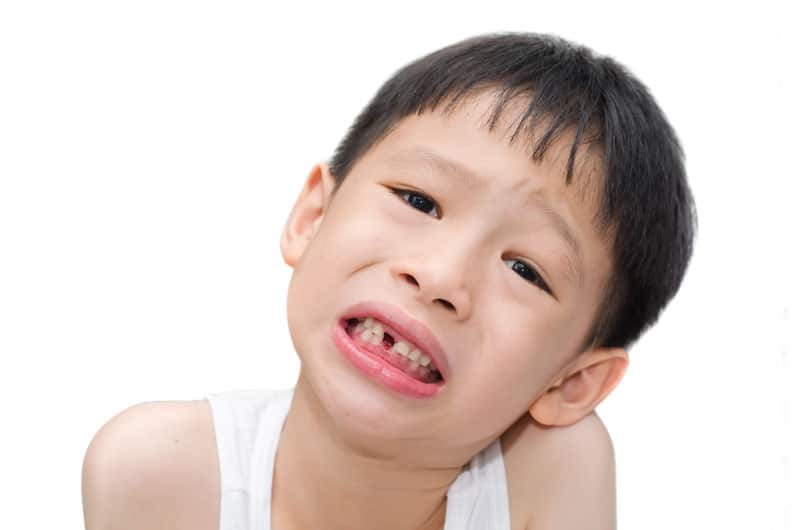 primary tooth loss kids