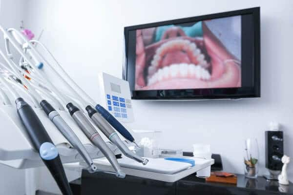 intra-oral camera at The Dental Studio