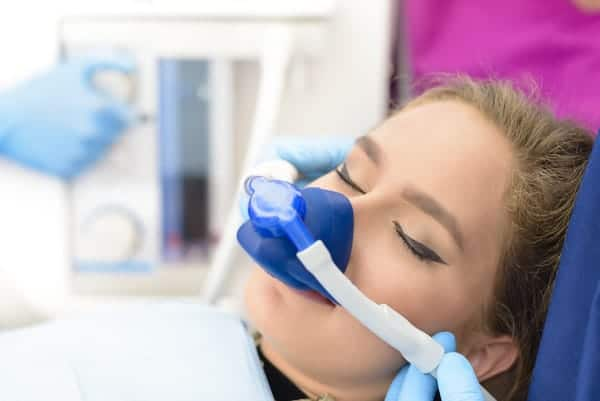 painless dentist inhalation sedation