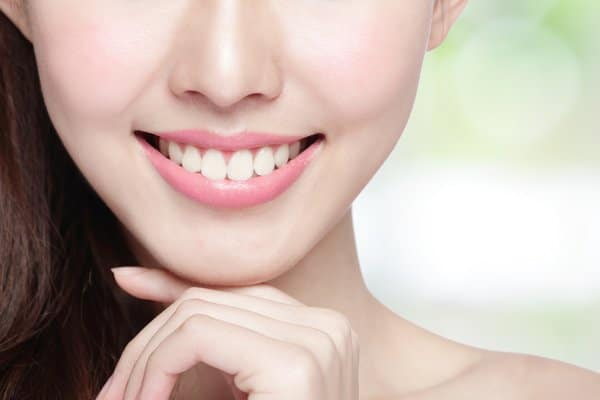 Whitened Teeth with Natural Shade