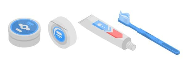 Use of toothbrush, toothpaste & dental floss if you smoke